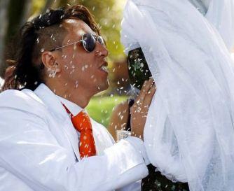 Richard Torres y su boda