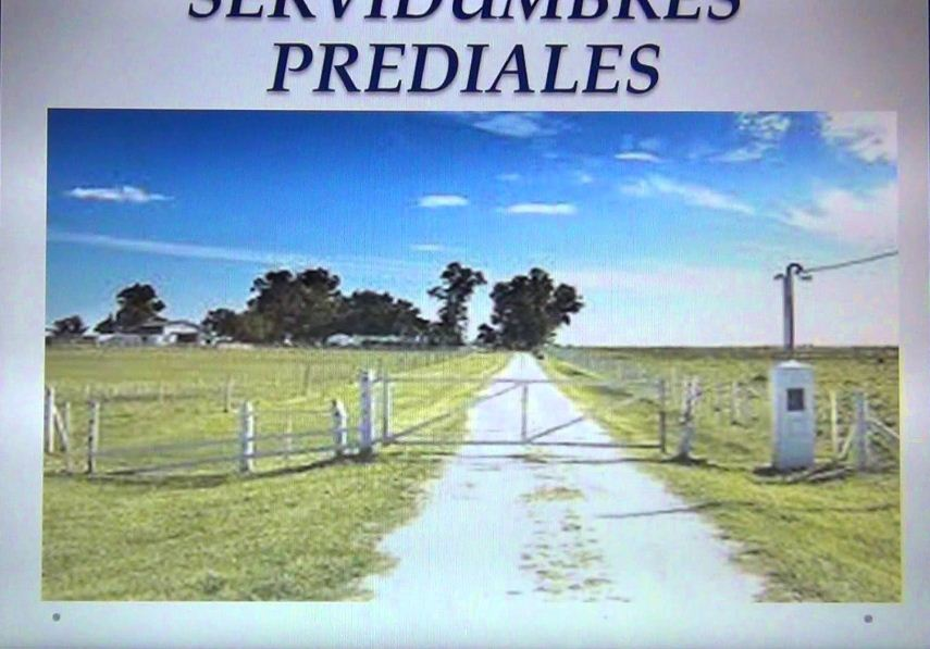 SERVIDUMBRES PREDIALES